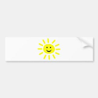 Smiley Sunshine Bumper Sticker