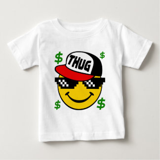 Smiley Thug Emoticon Baby T-Shirt