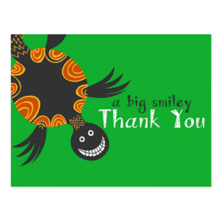 Smiley Tortoise Thank You Cards