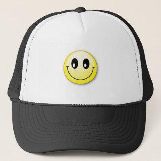 smiley trucker hat