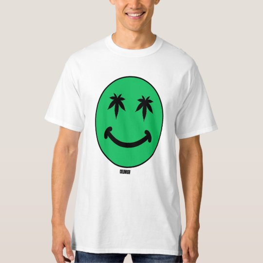 SMILEY WEED FACE T-Shirt