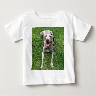 Smiley Weimaraner Baby T-Shirt