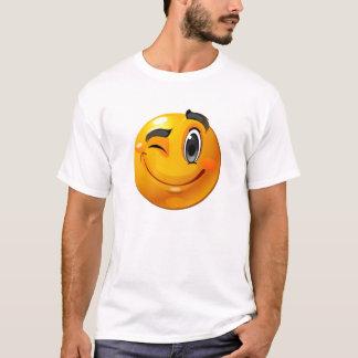 Smiley winking shirt