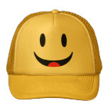 Smiley With Tongue Face Cap