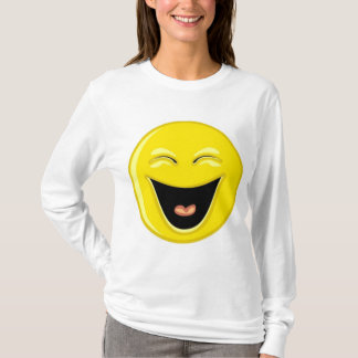 Smilie face laughing T-Shirt