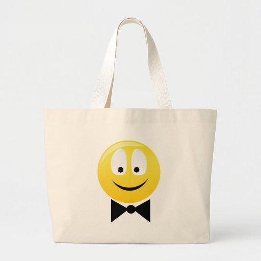 Smilie smartie pants canvas bags