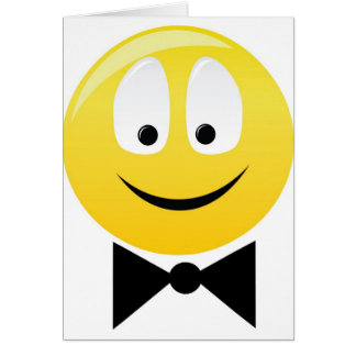 Smilie smartie pants greeting card