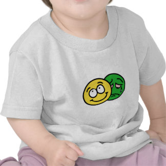 Smilie smiley theatre comedy tragedy t-shirts