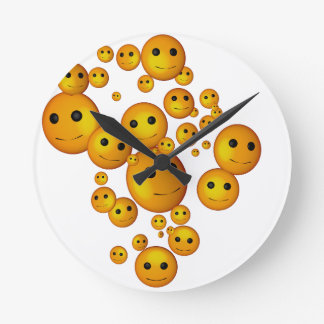 smilies clocks