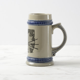 Smiling Alley Cat Beer Stein