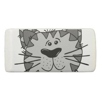 Smiling Alley Cat Eraser