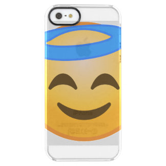 Smiling Angel Emoji Clear iPhone SE/5/5s Case