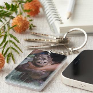 Smiling Animals Orangutan Baby Keychain