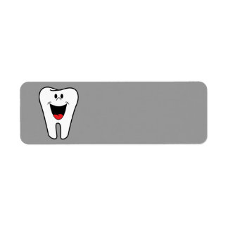 Smiling animated Tooth