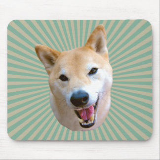 Smiling Barkley Sunburst Mousepad