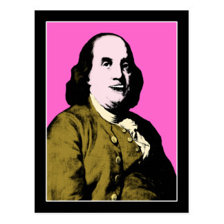 Smiling Ben Franklin ala Style Post Cards