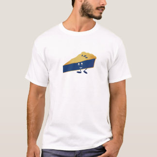 Smiling blueberry pie slice T-Shirt