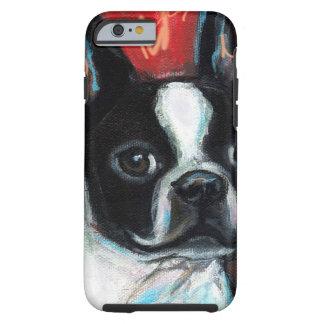 Smiling Boston Terrier Tough iPhone 6 Case