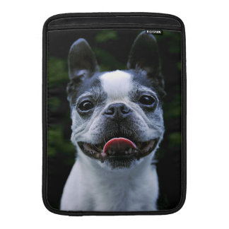 Smiling Boston Terrier MacBook Air Sleeve