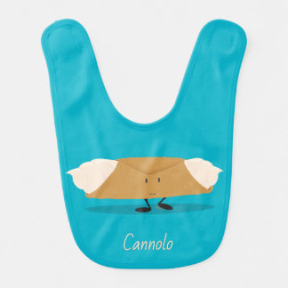 Smiling cannolo | Baby Bib
