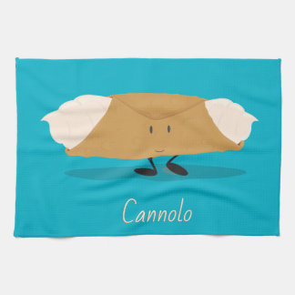 Smiling cannolo | Kitchen Towel