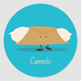 Smiling cannolo | Sticker