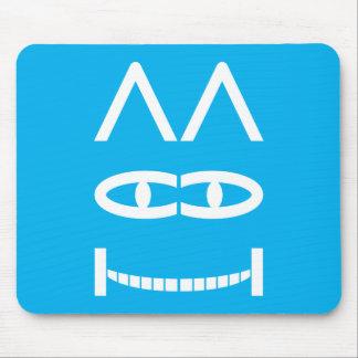 Smiling Cheshire Cat Puzzle Mousepad