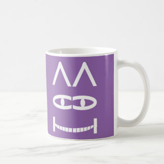 Smiling Cheshire Cat Puzzle Mug