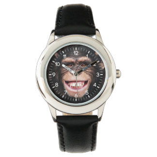 Smiling Chimpanzee Watch