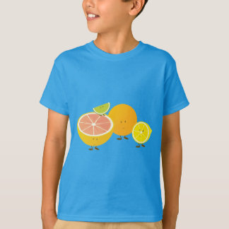 Smiling citrus group T-Shirt