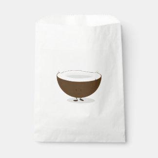 Smiling Coconut Favour Bag
