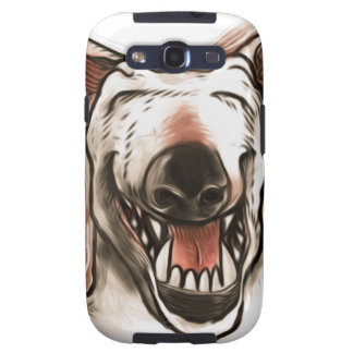 smiling dog galaxy s3 cover