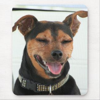 Smiling Dog mousepad