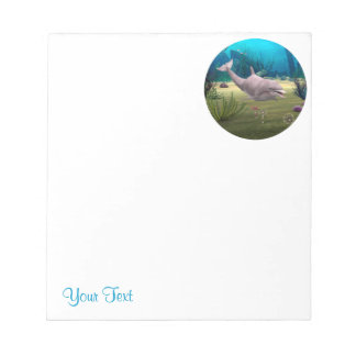 Smiling Dolphin Notepad