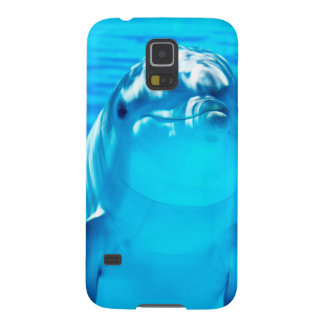 Smiling Dolphin Underwater Sea Life Galaxy S5 Covers