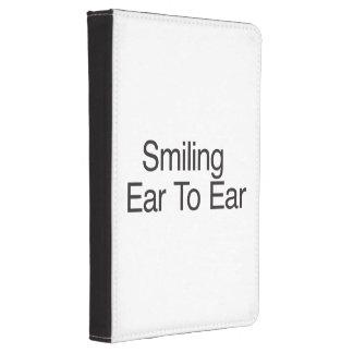 Smiling Ear To Ear ai Kindle Case