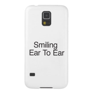 Smiling Ear To Ear ai Galaxy S5 Cover