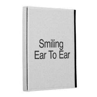 Smiling Ear To Ear iPad Case