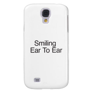 Smiling Ear To Ear Galaxy S4 Cases