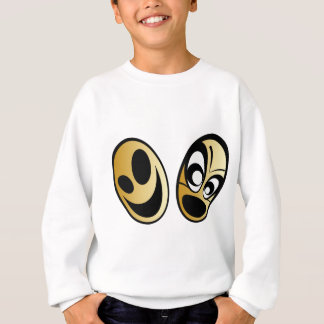Smiling eggs sweatshirt