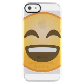 Smiling Emoji Clear iPhone SE/5/5s Case