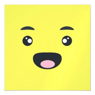 Smiling Emoji Magnetic Invitations