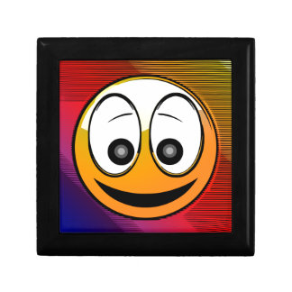 Smiling Face Character Gift Box