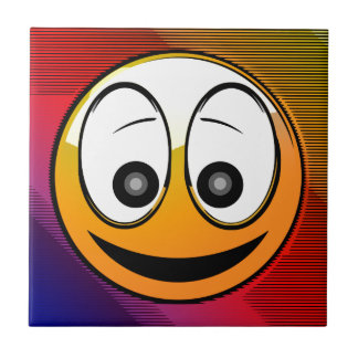 Smiling Face Character Tile