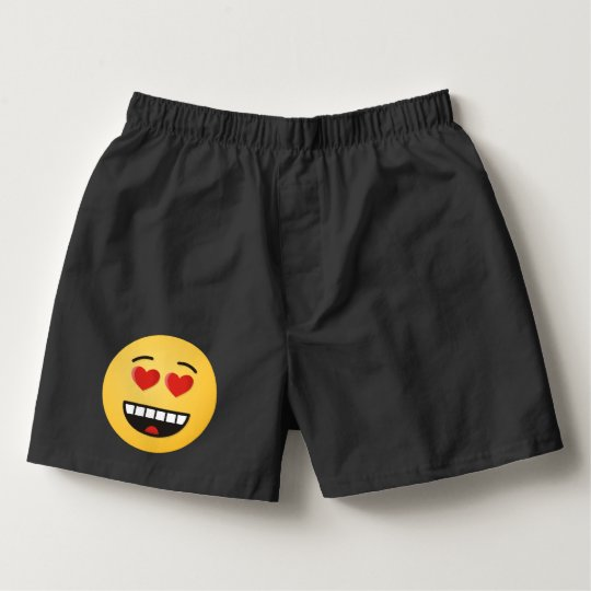 Smiling Face with Heart-Shaped Eyes Boxers