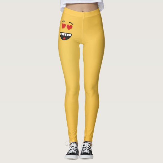 Smiling Face with Heart-Shaped Eyes Leggings