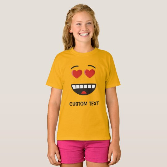 Smiling Face with Heart-Shaped Eyes T-Shirt