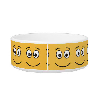 Smiling Face with Open Eyes Bowl