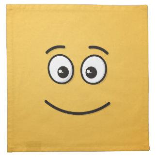 Smiling Face with Open Eyes Napkin