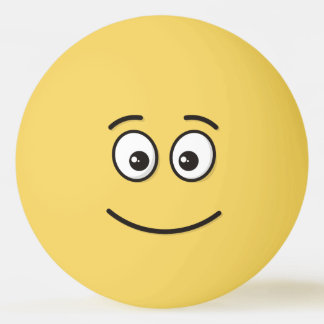 Smiling Face with Open Eyes Ping Pong Ball